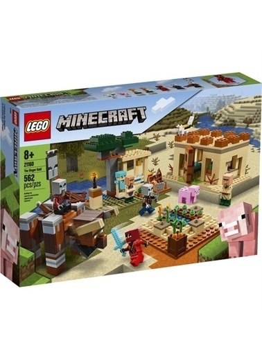Lego Legominecraft# 21160 Illager Saldırısı Renkli